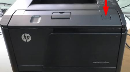 как достать картридж из принтера hp laserjet