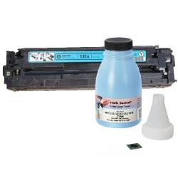 Заправка картриджа Canon 731 cyan (6271B002) синий