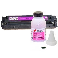 Заправка картриджа Canon 731 magenta (6270B002) пурпурный