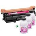 Заправка картриджа Canon 732 magenta 6140B001 пурпурный