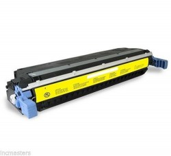 Заправка картриджа HP C9732A (№645A) yellow
