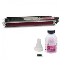 Заправка картриджа HP CE313A (№126A) magenta