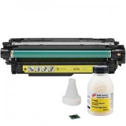 Заправка картриджа HP CF332A (№654A) Yellow