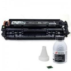 Заправка картриджа HP CF380A (№312A) black