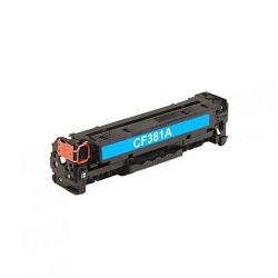Заправка картриджа HP CF381A (№312A) cyan