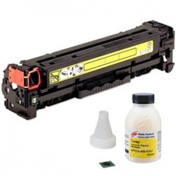 Заправка картриджа HP CF382A (№312A) yellow