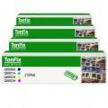 Купить комплект цветных картриджей HP Q6000A, Q6001A, Q6002A, Q6003A (124a)